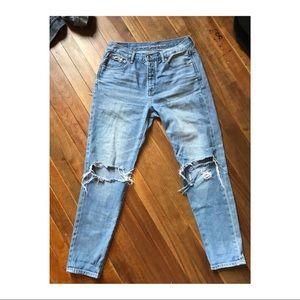 American Eagle Hi-Rise Girlfriend Jeans